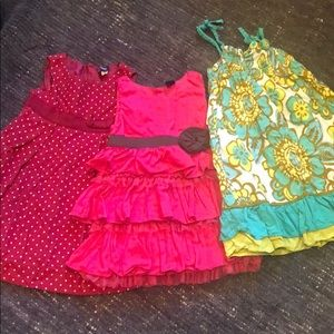 2T girls bundle of adorable dresses